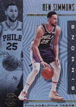Load image into Gallery viewer, 2019-20 Panini Illusions Basketball Cards #1-100: #71 Ben Simmons  - Philadelphia 76ers