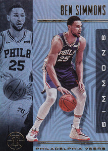2019-20 Panini Illusions Basketball Cards #1-100: #71 Ben Simmons  - Philadelphia 76ers