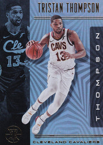 2019-20 Panini Illusions Basketball Cards #1-100: #72 Tristan Thompson  - Cleveland Cavaliers