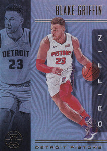 2019-20 Panini Illusions Basketball Cards #1-100: #80 Blake Griffin  - Detroit Pistons