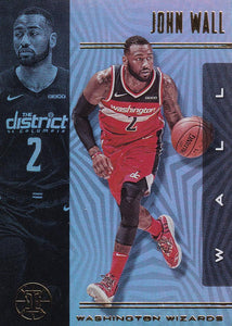 2019-20 Panini Illusions Basketball Cards #1-100: #85 John Wall  - Washington Wizards
