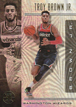 Load image into Gallery viewer, 2019-20 Panini Illusions Basketball Cards #1-100: #89 Troy Brown Jr.  - Washington Wizards
