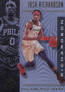 2019-20 Panini Illusions Basketball Cards #1-100: #90 Josh Richardson  - Philadelphia 76ers