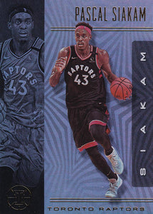 2019-20 Panini Illusions Basketball Cards #1-100: #91 Pascal Siakam  - Toronto Raptors