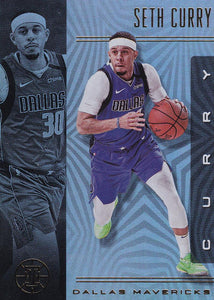2019-20 Panini Illusions Basketball Cards #1-100: #92 Seth Curry  - Dallas Mavericks