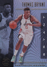 Load image into Gallery viewer, 2019-20 Panini Illusions Basketball Cards #1-100: #94 Thomas Bryant  - Washington Wizards