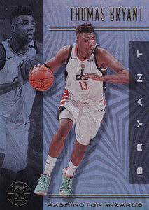 2019-20 Panini Illusions Basketball Cards #1-100: #94 Thomas Bryant  - Washington Wizards