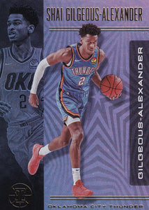 2019-20 Panini Illusions Basketball Cards #1-100: #96 Shai Gilgeous-Alexander  - Oklahoma City Thunder