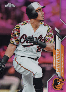 2020 Topps Chrome Baseball PINK REFRACTORS (101-200)  ~ Pick your card