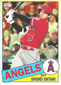 2020 Topps Chrome - 1985 Topps Baseball ~ Pick your card