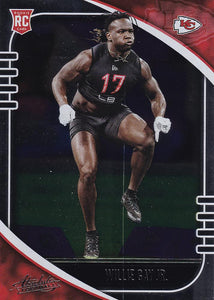 2020 Panini Absolute NFL Football ROOKIE Cards #101-200 ~ Pick Your Cards
