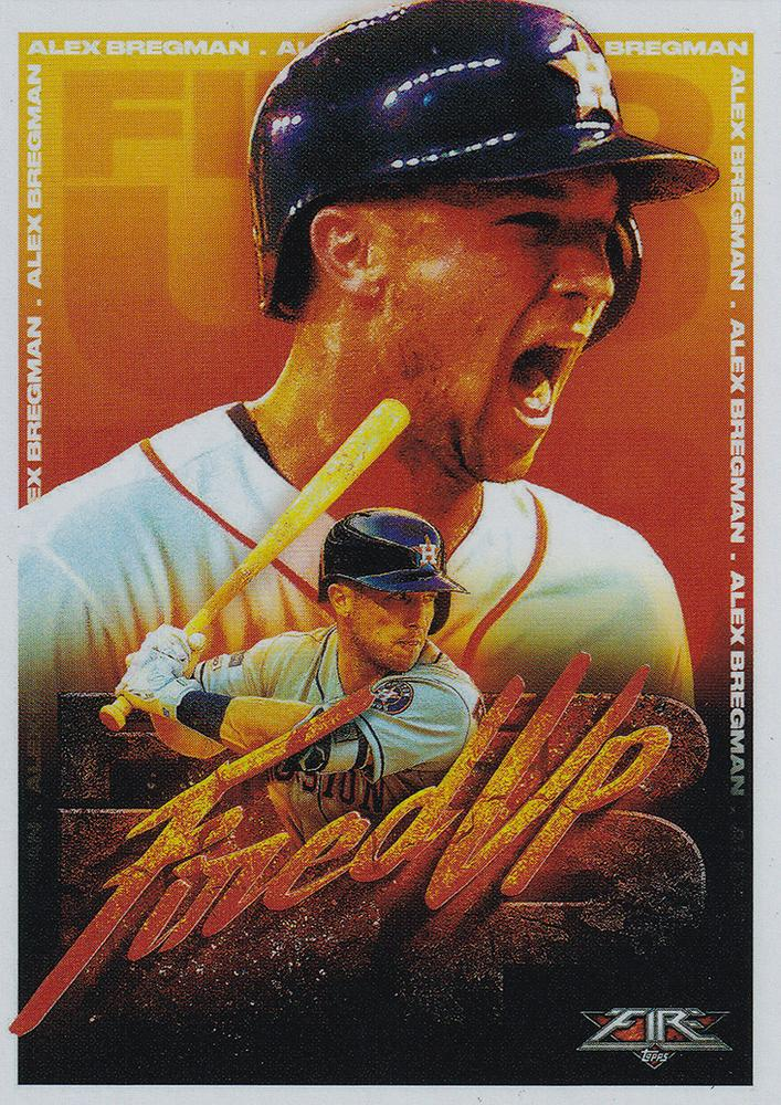 2020 Topps Fire Baseball FIRED UP INSERTS ~ Pick your card