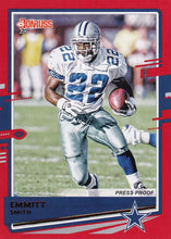 Load image into Gallery viewer, 2020 Donruss NFL RED PRESS PROOF Parallels ~ Pick Your Cards