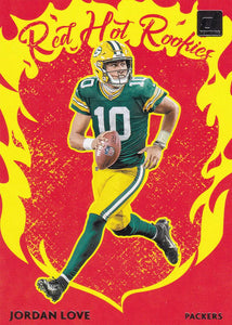 2020 Donruss NFL RED HOT ROOKIES Inserts ~ Pick Your Cards