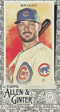 Load image into Gallery viewer, 2020 Topps Allen & Ginter MINI BLACK BORDERS ~ Pick your card