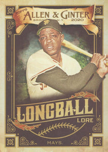 2020 Topps Allen & Ginter LONGBALL LORE Inserts ~ Pick your card