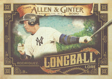 Load image into Gallery viewer, 2020 Topps Allen & Ginter LONGBALL LORE Inserts ~ Pick your card