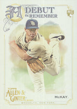 Load image into Gallery viewer, 2020 Topps Allen & Ginter A DEBUT TO REMEMBER Inserts ~ Pick your card