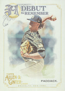 2020 Topps Allen & Ginter A DEBUT TO REMEMBER Inserts ~ Pick your card