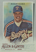 Load image into Gallery viewer, 2020 Topps Allen & Ginter SILVER PORTRAITS Parallels #1-100 ~ Pick your card
