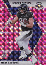 Load image into Gallery viewer, 2020 Panini Mosaic NFL PINK CAMO Parallels ~ Pick Your Cards