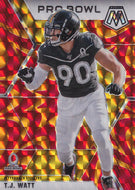 2020 Panini Mosaic NFL REACTIVE ORANGE Parallels ~ Pick Your Cards