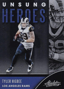 2020 Panini Absolute NFL Football UNSUNG HEROES Inserts ~ Pick Your Cards