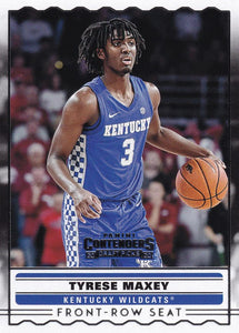 2020-21 Panini Contenders Draft Basketball FRONT-ROW SEATS Inserts ~ Pick your card