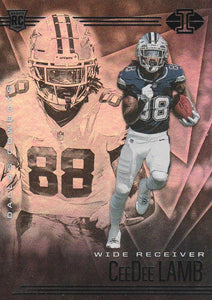 2020 Panini Illusions NFL Football Cards RETAIL BLUE NAME ~ Pick Your Cards