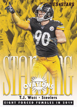 Load image into Gallery viewer, 2020 Panini Rookies & Stars NFL STANDING OVATIONS Inserts ~ Pick Your Cards