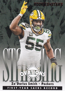 2020 Panini Rookies & Stars NFL STANDING OVATIONS Inserts ~ Pick Your Cards
