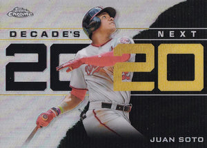 2020 Topps Chrome Update Baseball DECADE'S NEXT Inserts ~ Pick your card