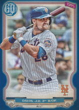 Load image into Gallery viewer, 2020 Topps Gypsy Queen Baseball INDIGO Parallels #/250 ~ Pick your card - HouseOfCommons.cards