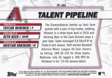 Load image into Gallery viewer, 2020 Bowman - Talent Pipeline Trios Chrome Refractor Insert