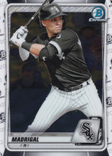 Load image into Gallery viewer, 2020 Bowman Baseball Cards - Chrome Prospects (101-150): #BCP-101 Nick Madrigal
