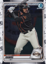 Load image into Gallery viewer, 2020 Bowman Baseball Cards - Chrome Prospects (101-150): #BCP-148 Heliot Ramos