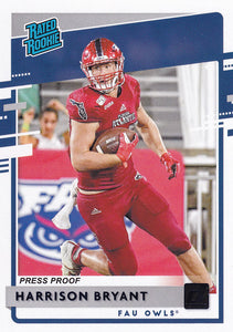 2020 Panini Chronicles Draft Picks DONRUSS RATED ROOKIES BLUE ~ Pick Your Cards