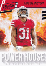 Load image into Gallery viewer, 2020 Panini Prestige NFL POWER HOUSE BLUE PARALLELS ~ Pick Your Cards