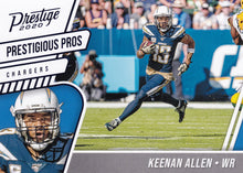 Load image into Gallery viewer, 2020 Panini Prestige NFL PRESTIGIOUS PROS BLUE PARALLELS ~ Pick Your Cards