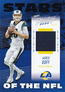2020 Panini Prestige NFL STARS of the NFL BLUE RELICS ~ Pick Your Cards
