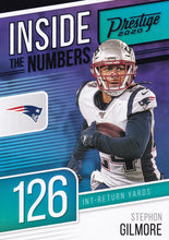 Load image into Gallery viewer, 2020 Panini Prestige NFL INSIDE THE NUMBERS BLUE PARALLELS ~ Pick Your Cards