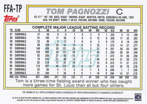 2020 Topps Archives Fan Favorites Autographs