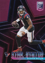 Load image into Gallery viewer, 2020 Donruss Elite NFL Football STAR STATUS PINK INSERTS ~ Pick Your Cards