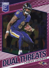 Load image into Gallery viewer, 2020 Donruss Elite NFL Football DUAL THREATS PINK INSERTS ~ Pick Your Cards