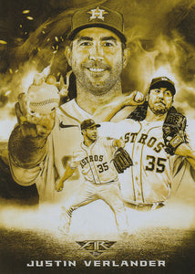 2020 Topps Fire Baseball SMOKE & MIRRORS GOLD MINTED Inserts ~ Pick your card
