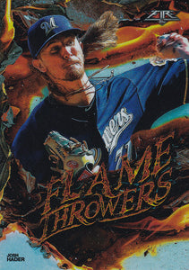 2020 Topps Fire Baseball FLAME THROWERS INSERTS ~ Pick your card
