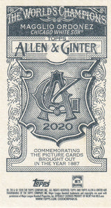2020 Topps Allen & Ginter MINI NO NUMBERS PR50 ~ Pick your card