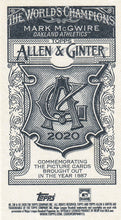 Load image into Gallery viewer, 2020 Topps Allen & Ginter MINI NO NUMBERS PR50 ~ Pick your card