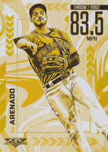 Load image into Gallery viewer, 2020 Topps Fire Baseball ARMS ABLAZE GOLD MINTED INSERTS ~ Pick your card