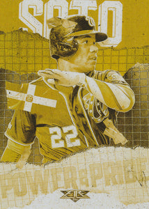 2020 Topps Fire Baseball POWER and PRIDE GOLD MINTED INSERTS ~ Pick your card